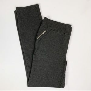 Jules & Leopold Gray Stretch Pull On Pants Sz M